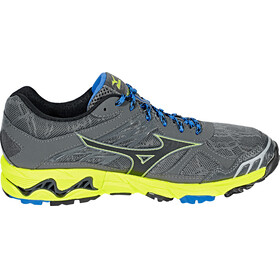 Mizuno Wave Mujin 4 G-TX Shoes Men Castlerock/Black/Saftey Yellow